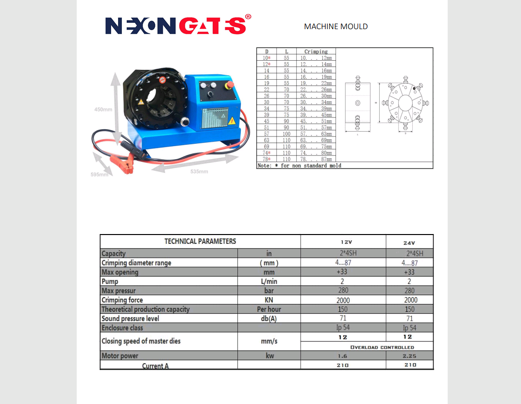 Crimping Machine (NGB-32) Image