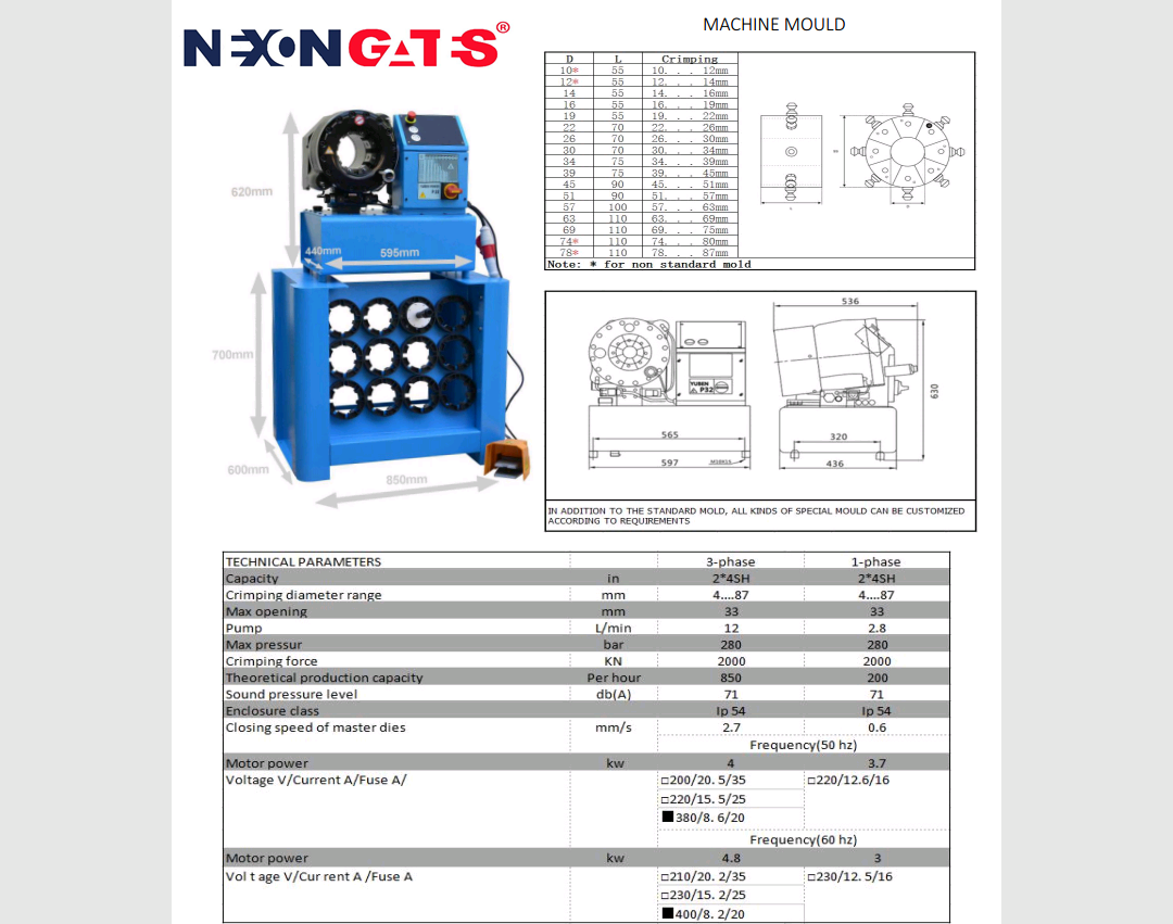 Crimping Machine (NG-20) Image
