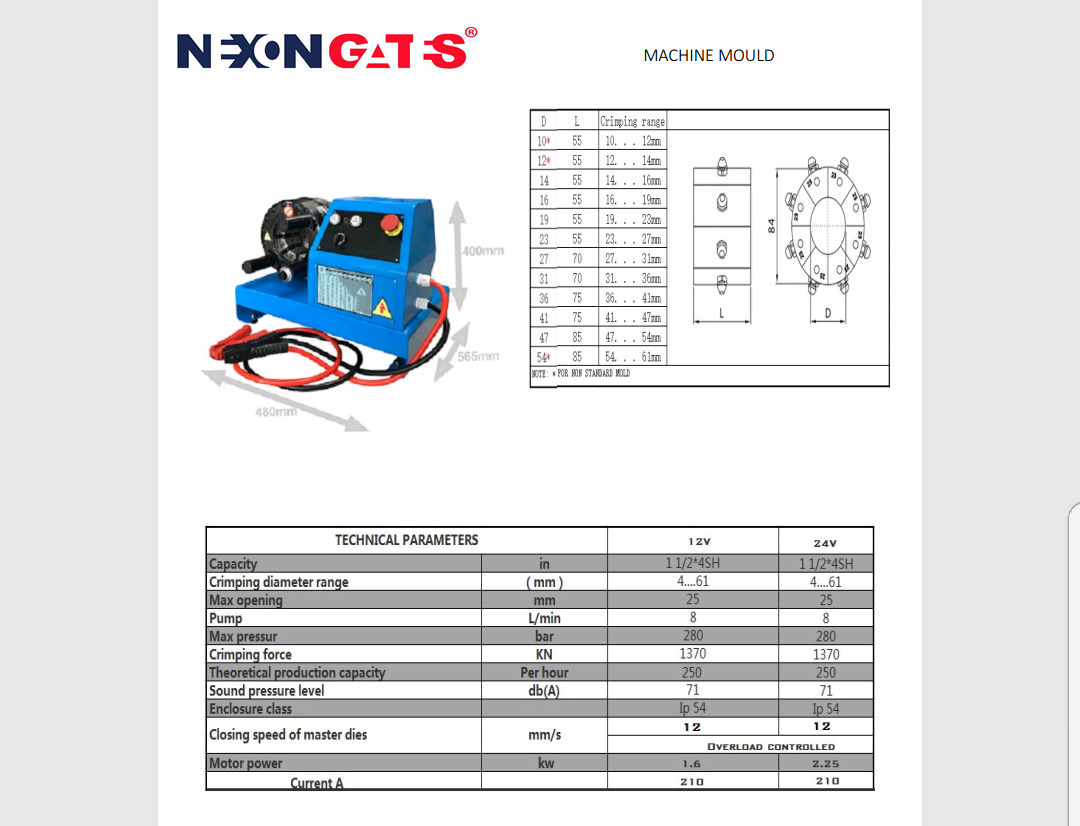Crimping Machine (NGB-20) Image